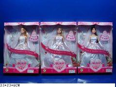 Кукла типа Барби, 3 вида, в коробке 33*23*6 см