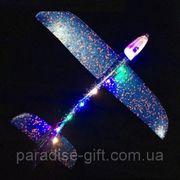 Самолет-планер, 48 см, светится кабина, корпус