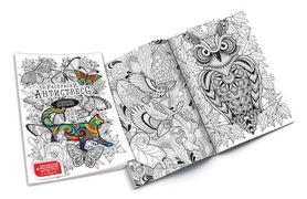 Набір креативної творчості Розмальовка Антистрес з фломастерами