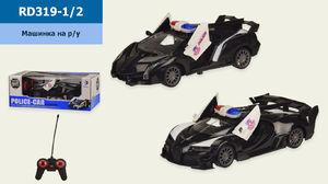 Р.У. Машина, 2 вида, в коробке 27,5*14*10,5 см, размер игрушки – 20*9.5*4.5 см