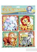 Декорації для дитячої кімнати Звірята