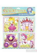 Декорації для дитячої кімнати Принцесса