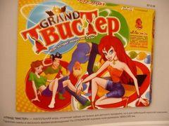 Напольная развлекательная игра Твистер GRAND