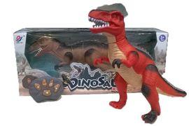 Животное динозавр, 2 цвета, на батарейке, свет, звук, в коробке 47x14x20 см