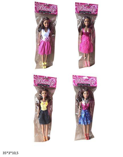 Лялька, 28 см, 4 види, в кульку 35*3*10,5