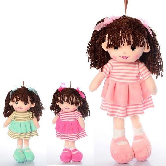 Кукла 38 см, 3 цвета, в кульке 15-38-8 см