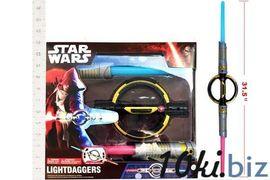 Световой меч, Star Wars, на батарейке, свет, звук, в коробке 12*4*12