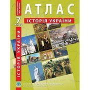 Атласс для 7 класса История Украины Барладин О.В. ИПТ
