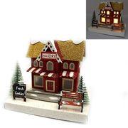 Новорічний декоративний 3D будиночок з LED підсвічуванням Bakery 16.5х12.5х12.0 см Josef Otten KP-F-0003
