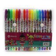 Набір гелевих ручок з глітером 1.0 мм 18 кольорів LOL Josef Otten L008-18(DSCN9788-18) (1/10/160)