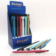 Ручка масляна автоматична синя 0.7 мм Piano PS-008