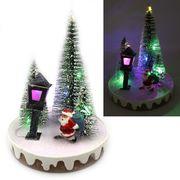 Новорічна декоративна 3D фігура з LED підсвічуванням Ялинки 14.0х10.5 см Josef Otten L-0089
