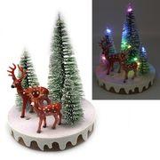 Новорічна декоративна 3D фігура з LED підсвічуванням Ліс 13.0х10.5 см Josef Otten L-0091