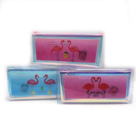 Пенал 21*6.2*4.5 см Flamingo микс Josef Otten P-W009