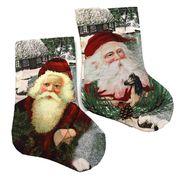 DSCN0595-M Носок новогодн. Дед Мороз 27*18см, mix, 1шт/этик. (1)