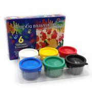 RFC0635 (FC0635T) Краски для пальцев Josef Otten Веселые рисунки 6цв * 35 ml (12/48)
