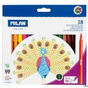 Набір фломастерів 18 кольорів 2 мм MILAN 06F18