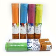 0917-30 Хлопушка пневм. PVC Цветной дым 30см 50g, цветная мука, mix, 1шт/этик. (1)