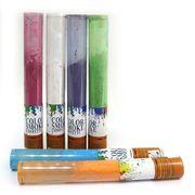 0917-40 Хлопушка пневм. PVC Цветной дым 40см 60g,  цветная мука, бут. 7см mix5 (1)