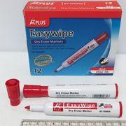 Маркер для білих дошок 1-5 мм клиноподібний червоний Beifa BY106600-RD (12/72/864)