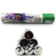 DSCN1245-30 Хлопушка пневм. Дым 30см,  цветная мука. mix6 (12)