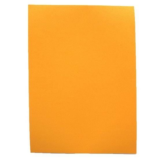 Фоаміран А4 помаранчевого кольору, товщина 1.5 мм, 10 аркушів Josef Otten 15A4-7013