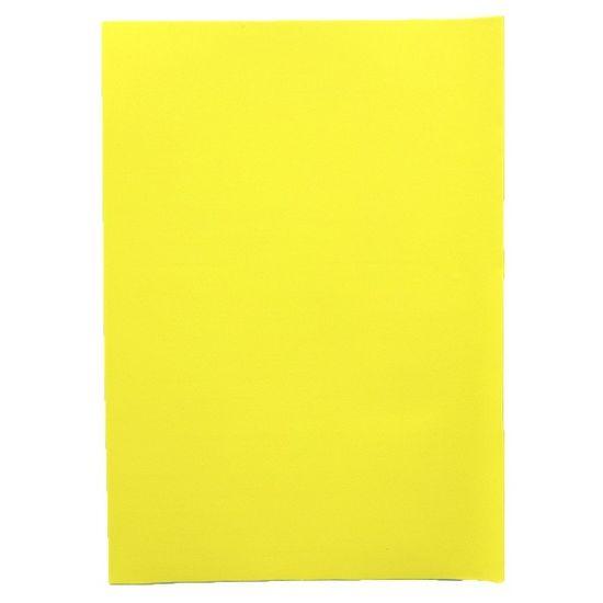 Фоаміран А4 світло-жовтого кольору, товщина 1.5 мм, 10 аркушів Josef Otten 15A4-7018
