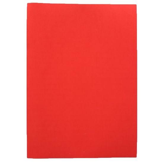 Фоаміран А4  червоного кольору, товщина 1.5 мм, 10 аркушів Josef Otten 15A4-7056