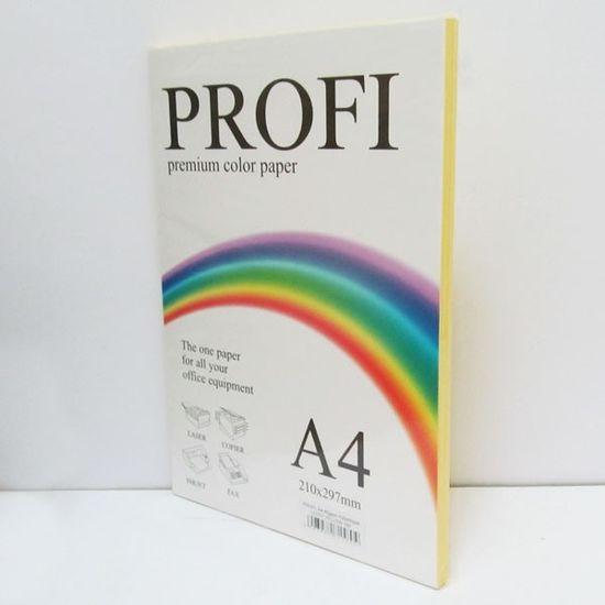 Папір кольоровий PROFI А4/80г (100л) Light Yellow №160 (жовтий) ()