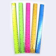 DSCN1612 Линейка цветная прозр. 2,8*30см, mix, 1шт/этикетка (24)