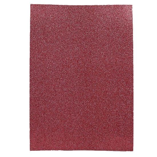 17GLA4-065 Фоамиран EVA 1.7±0.1MM Розовый GLITTER HQ A4 (21X29.7CM) 10лист./п./этик. (1)