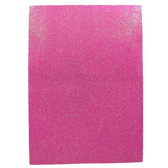 17IA4-7102 Фоамиран EVA 1.7±0.1MM Темно-розовый IRIDESCENT HQ A4 (21X29.7CM) 10 лист./п./этик. (1)