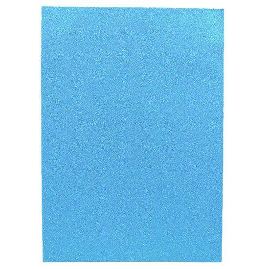 17IA4-7130 Фоамиран EVA 1.7±0.1MM Светло-голубой IRIDESCENT HQ A4 (21X29.7CM) 10 лист./п./этик. (1