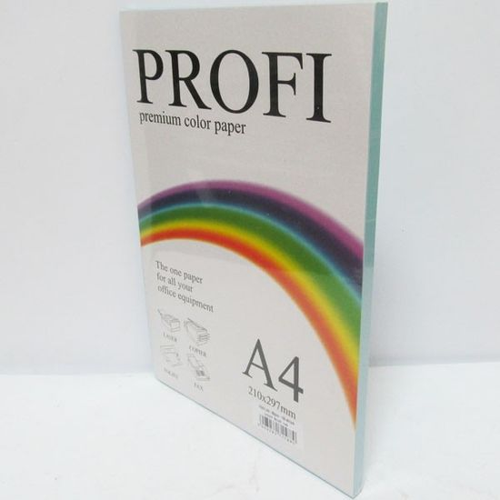 Папір кольоровий PROFI А4/80г (100л) Light Ocean №120 (блакитний) ()