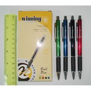 Ручка кулькова автоматична металева синя 0.7 мм Winning Josef Otten WZ-2062A