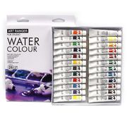 EW2412C-4 Краски акварельArt ranger пластик туб, 24цв.*12мл, 1шт/этик. (6)