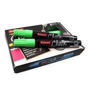 3043 Маркер мел. Luxor Chalk зелен. (6/432)
