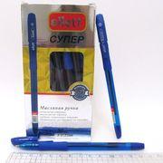 Ручка масляна синя 0.7 мм з гумовим тримачем Ellot Josef Otten DSCN3197 (ET-2208)