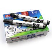 Маркер для білих дошок 1-3 мм круглий чорний 600 Luxor 3341 (12/144/576)