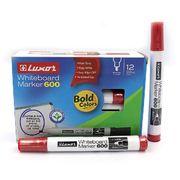 Маркер для білих дошок 1-3 мм круглий червоний 600 Luxor 3343 (12/144/576)