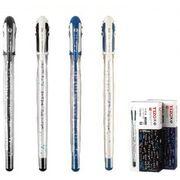Ручка гелева синя 0.5 мм Написи Tianjiao TG3462
