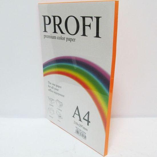 Бумага цветная 100 листов А4 80г PROFI Cyber Red №350 Josef Otten