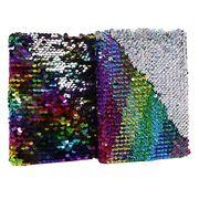 3897-A6 Блокнот с пайетками Разноцветный А6 P80 70g, лин. (1)