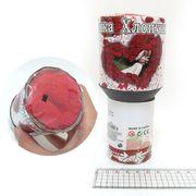 4005-15 Хлопушка-граната пневм. Розы 15см, 20гр - лепестки роз ткань (1)