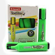Маркер текстовий Luxor Textliter 1-4,5 мм, зелений 4012 (10/100/400)
