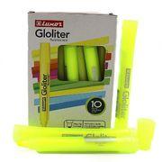 Маркер текстовий флуоресцентний Luxor Gloliter  1-3,5 мм, жовтий 4131T (10/100/800)