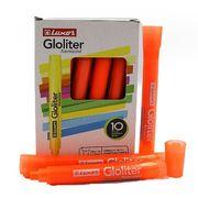 Маркер текстовий флуоресцентний Luxor Gloliter  1-3,5 мм, помаранчевий 4133T (10/100/800)