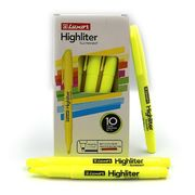 Маркер текстовий Luxor Highliters 1-3,5 мм, жовтий 4141 (10/100/800)