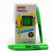 Маркер текстовий Luxor Highliters 1-3,5 мм, зелений 4142 (10/100/800)