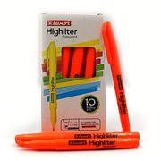Маркер текстовий Luxor Highliters 1-3,5 мм, помаранчевий 4143 (10/100/800)